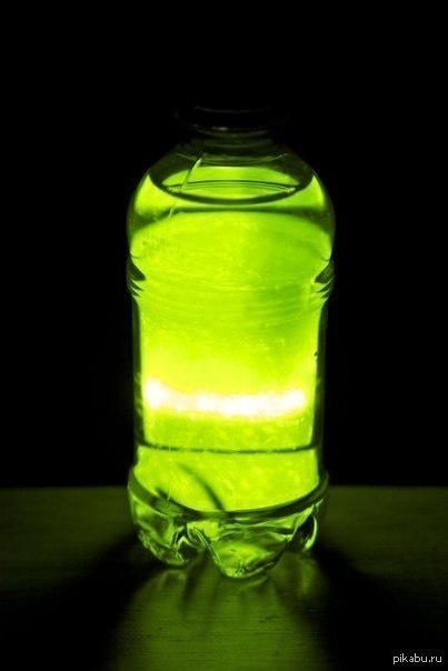 ночник со светящейся водой