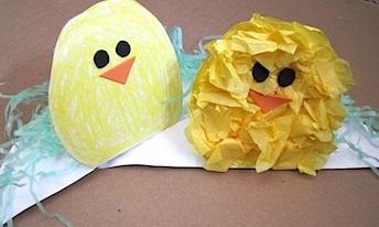 бумажный цыпленок