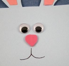 подарочная упаковка заяц