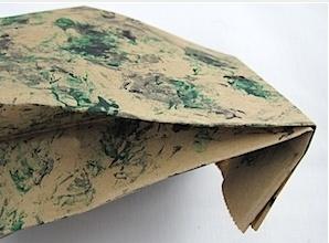 Камуфляжный подарочный пакет своими руками
