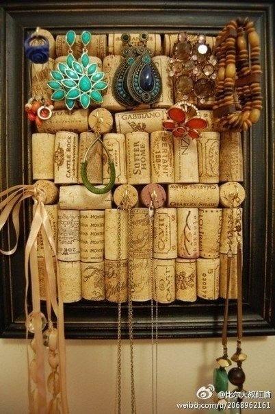 Винные пробки в домашнем декоре